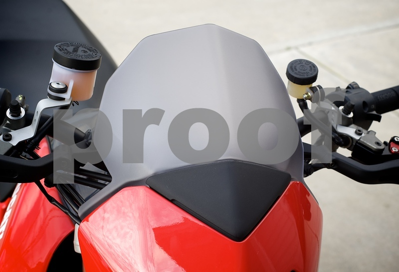 Ducati Performance Hypermotard windscreen