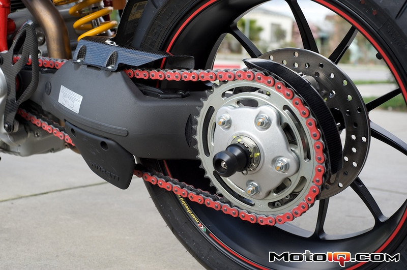 Ducati Performance Chain and carbon chain guard