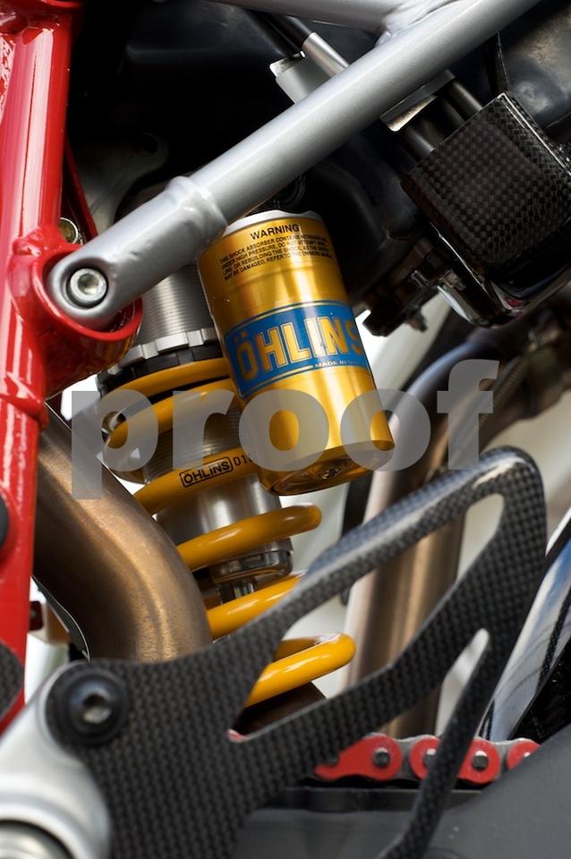 Ducati Hypermotard S ohlins shock