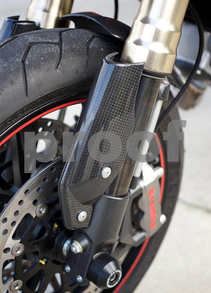 Ducati Hypermotard DLC forks