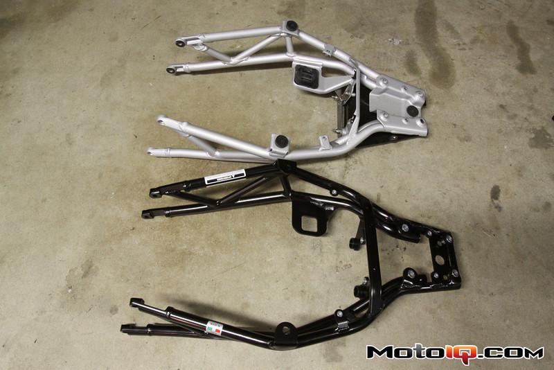 Project Ducati Hypermotard: Part VI, Saving Weight