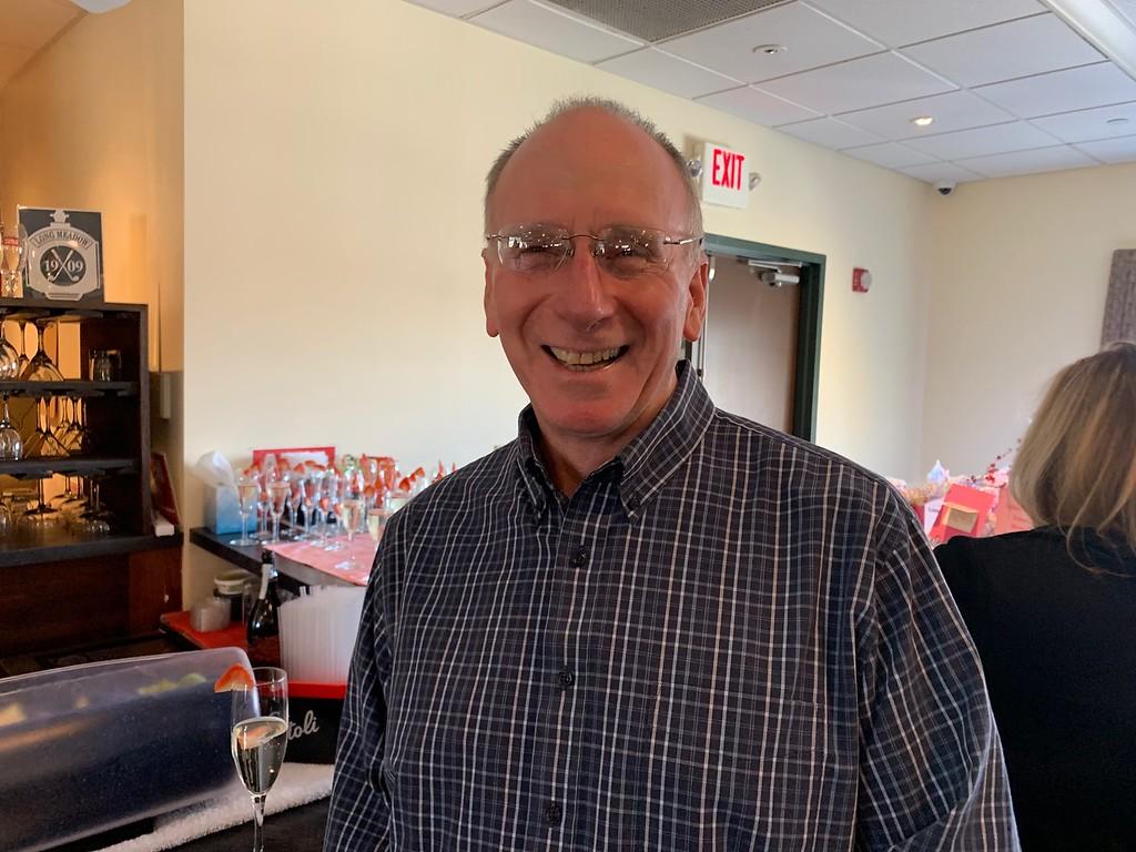 . Long Meadow Golf Club President Steve Shorrock of Lowell