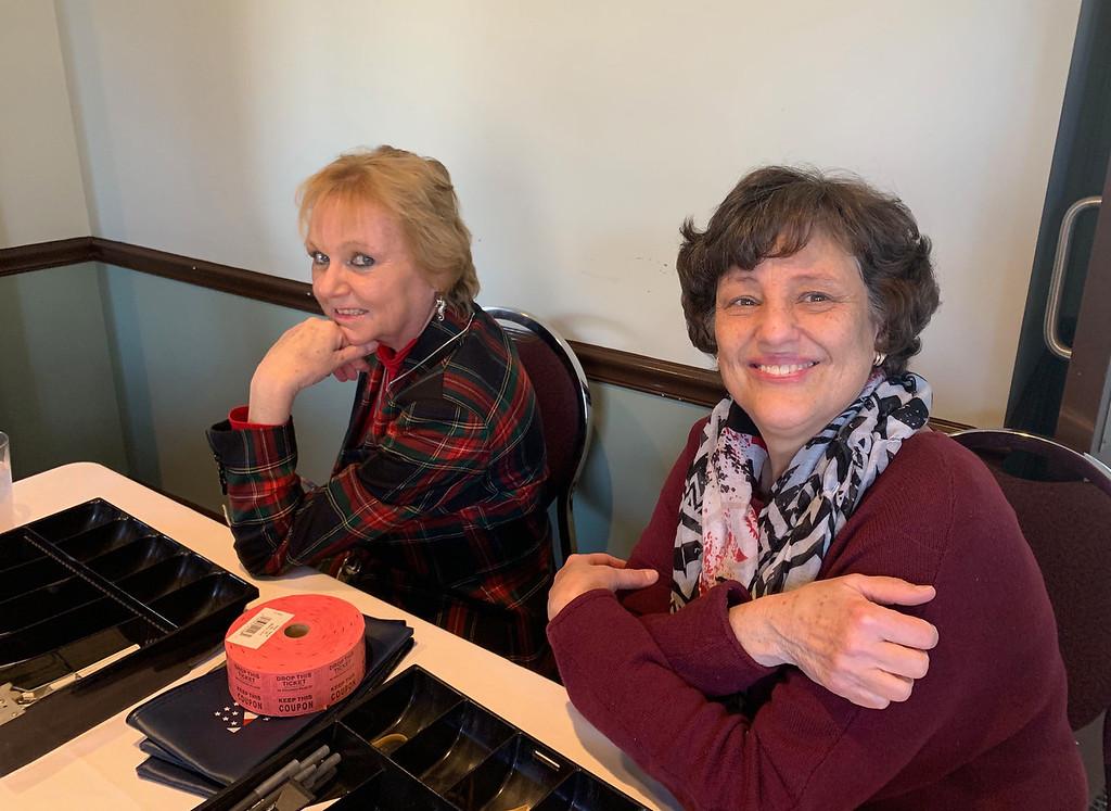 . Martha Donohoe and Barbara Vitale of Lowell