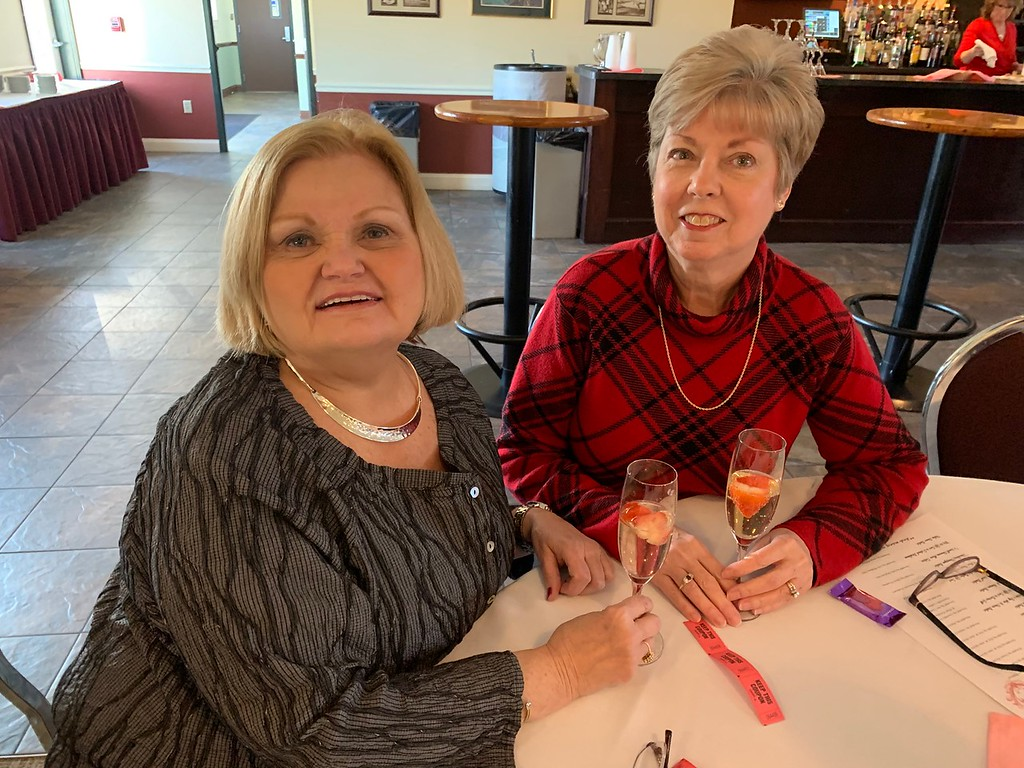 . Ann Marie Lohmer of Lowell and Carole McOsker of Dracut