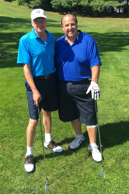 . Jim Rivard of Lowell and Art Sutcliffe of Chelmsford