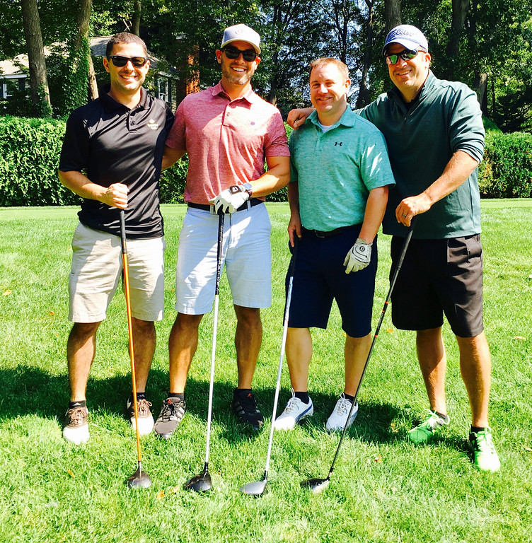 . From left, Nick Russo of Dracut, Zach Trearchis of Tyngsboro, Brian Twist of Melrose and Tim Hirbour of Lowell