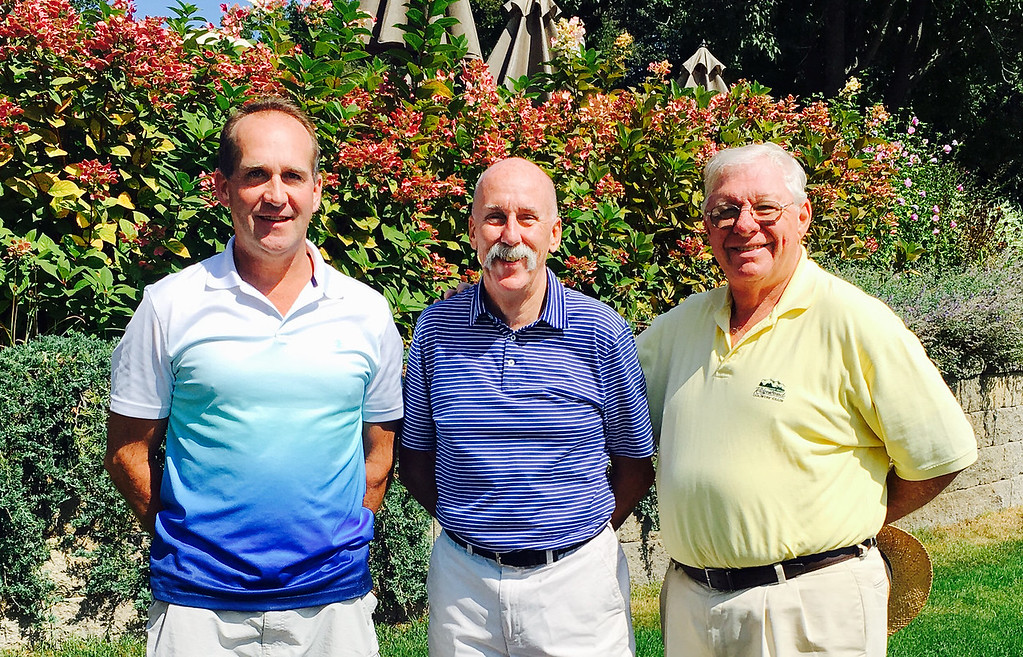 . From left, Dan Murphy of Billerica, Peter Garrigan of Lowell and Rey Ilg of Gilford, N.H.