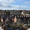 Panoramic views of Shrewsbury skyline from Prospect House, Belle Vue, Shrewsbury.