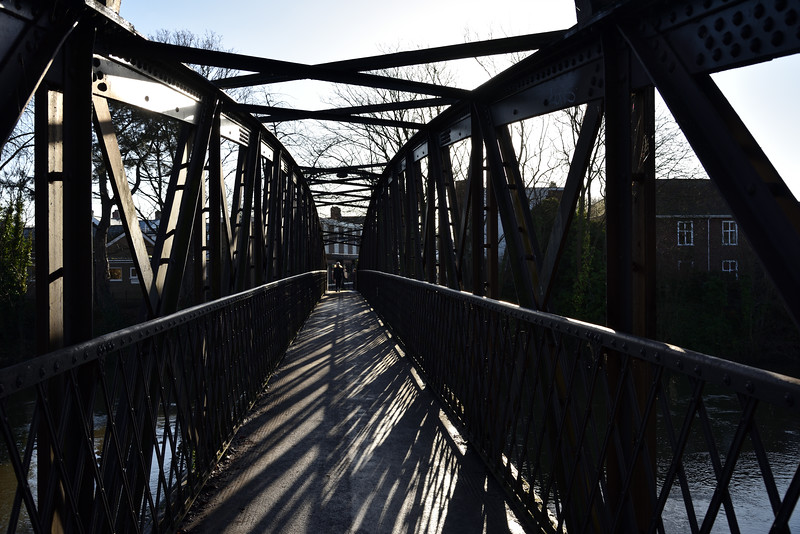 Greyfriars bridge, Shrewsbury.