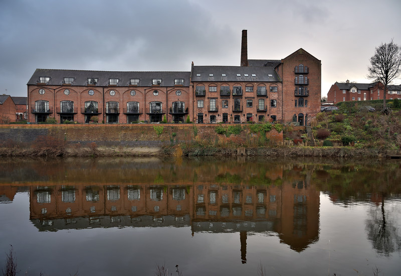 Trouncers old brewery Colemam, Shrewsbury.