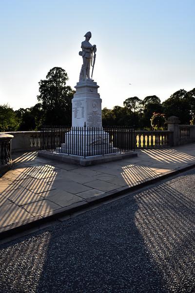 War memorial, St Chads, Shrewsbury.