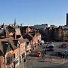 Pamoramic views of Hills Lane, Shrewsbury.