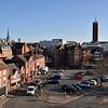 Pamoramic views of Barker Street and Hills Lane, Shrewsbury.