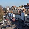 Pamoramic views of Smithfield Road, Shrewsbury.