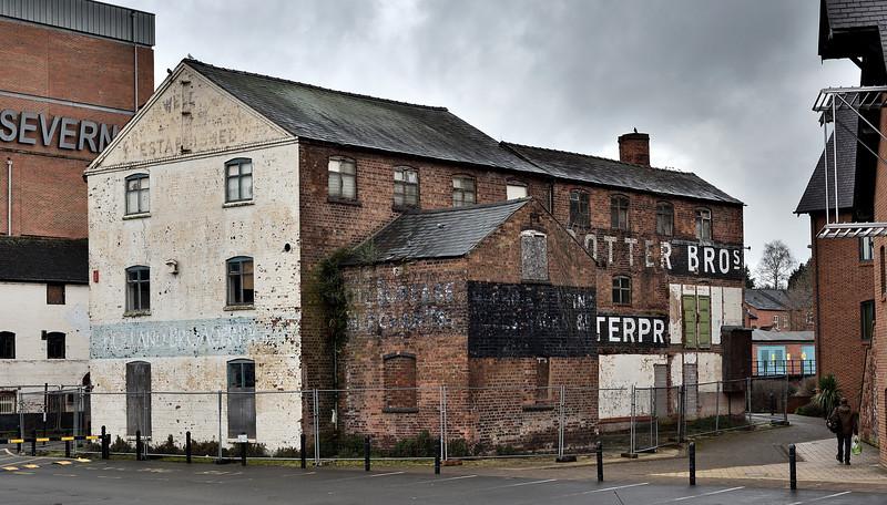 The Stew, Frankwell Quay, Shrewsbury.