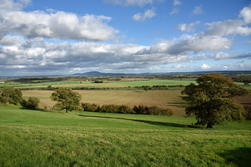 A view from Lyth Hill, Shrewsbury.