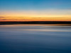 Abstract Study of Water and Colored Sky