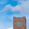 Clock Tower at Jack London Square and Clouds