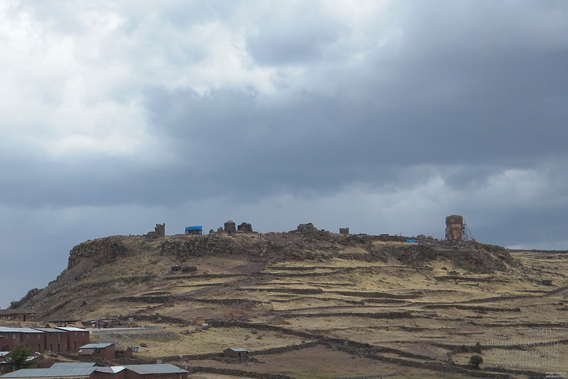 The towers of Sillustani.