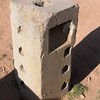 "Puma Punku. Backside of the ""groovy"" block."