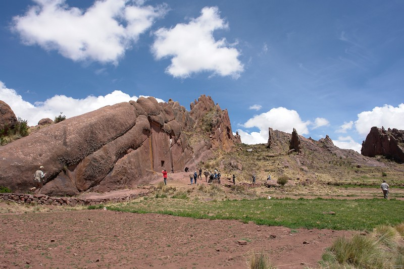 "Amaru Muru, the ""stargate"". The natural red sandstone layer are perfect vertical in this mountain range."