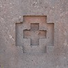 Puma Punku. Chakana, the Inca Cross.