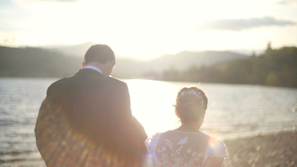 altskeith house wedding video sunset ard