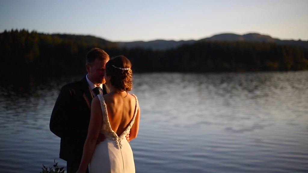 altskeith house wedding video sunset