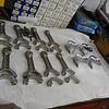 Diamond pistons and Chevrolet LS7 titanium rods....