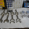 Diamond pistons and Chevrolet LS7 titanium rods.....
