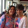 Tuppy Blair Carney '86 with her mom, Kitty Jarvis Blair `52 on Mother's Day at Rivue restaurant at The Galt House in Louisville, Kentucky.