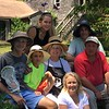 Ginny Storrs Akabane `64 with daughter, Perry, her husband Darby (blue hat), 3 grandchildren - Belle (17), Ben (14), Owen (10) and son, Stephen (in red)