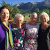 1966- Keven Carney Wilder, Turtle Breed, Pacey White, and Taffy Fisher Field at Turtle's daughter's wedding in Crested Butte, Colorado.