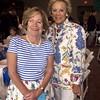 Margaret Bodine Wallis `58 and Sarah Wainwright Yort `60 in St. Louis at grade school graduation of their grandchildren.