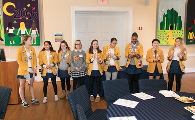 FEBRUARY 20, 2018 - BRYN MAWR, PA -- Baldwin School Class of 2018 Legacy Luncheon and Pinning Ceremony Tuesday, February 20, 2018.  PHOTOS © 2018 Jay Gorodetzer -- Jay Gorodetzer Photography, www.JayGorodetzer.com
