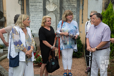 A visit to Mrs. Fleming's gravesite