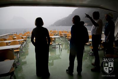 Boat ride on Lake Lugano