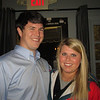Andrew Dann '07 and Kathryn Yarbrough at the Birmingham Alumni Gathering at Saw's Juke Joint, February 21, 2013