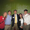 Heather Kent, Adam Kent '02, John Little '02, Ashley Anderson, and Louis Anderson '02 at the Birmingham Alumni Gathering, February 21, 2013, at Saw's Juke Joint