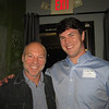 Ed Powell '84 and Andrew Dann '07 at the Birmingham Alumni Gathering at Saw's Juke Joint, February 21, 2013