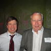 Blake Norberg '97 and Richard Adams '66 at the Birmingham Alumni Gathering at Saw's Juke Joint, February 21, 2013