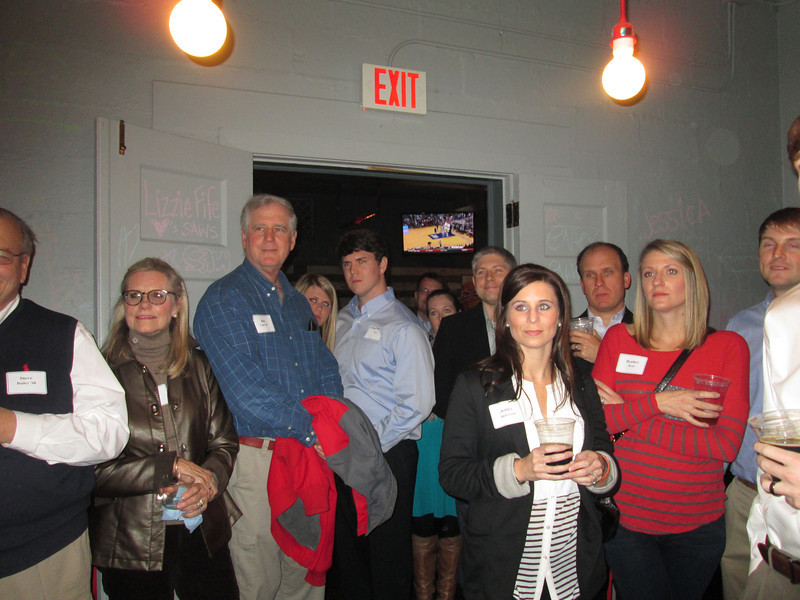 February 21, 2013, Birmingham Alumni Gathering at Saw's Juke Joint