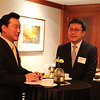 Miller Kim (father of Tae Gyun '16) and Hong Suk Kim (father of Ji Hwan '14) at the Seoul Reception, January 2013