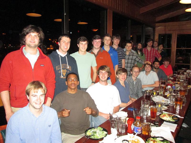 Jan. 29, 2013 MAC Dinner - Knoxville, TN