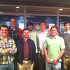 McCallie alums in Chapel Hill from '02-'12 enjoying a meal at the Carolina Brewery. Good MAC dinner!