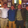 Birmingham MAC at Dreamland BBQ, April 4, 2013. L to R: Dillon McGregor, Sawyer Voges, Mathes Ballard, Joseph Staub, Tripp Schlereth