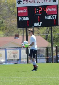 2016 Huntsville High School Soccer Alumni Day. credit: Sayuri Beltran
