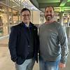 John Stutz '93 and Ryan Sullivan '99