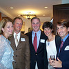 Chris Turner '88, Christine Turner, Phil Wislar '87, Kari Wislar and Jon LeBoeuf '87
