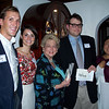 Whit Walker '02,  Hilary McArthur, Janice Donelson, Grant Earnest '01 and Meilee Wong
